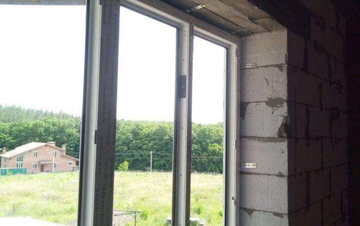 Установка пластиковых окон в частном доме/ул. Нивская 20-А Киев