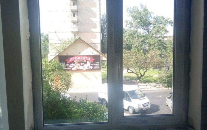 Установка пластиковых окон/ул. Героев Днепра 45 Киев