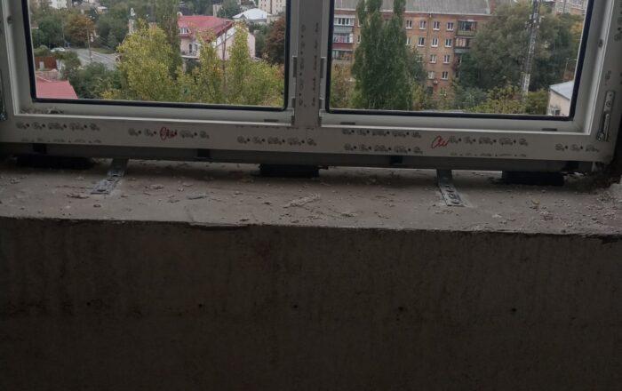 Установка пластиковых окон профиль Rehau/бул. Дружбы Народов 14-16 Киев