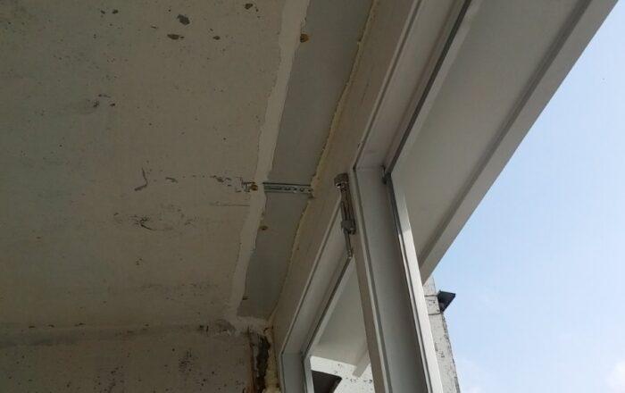 Остекление балкона под ключ с внутренней обшивкой/ул. Анны Ахматовой 16-В Киев