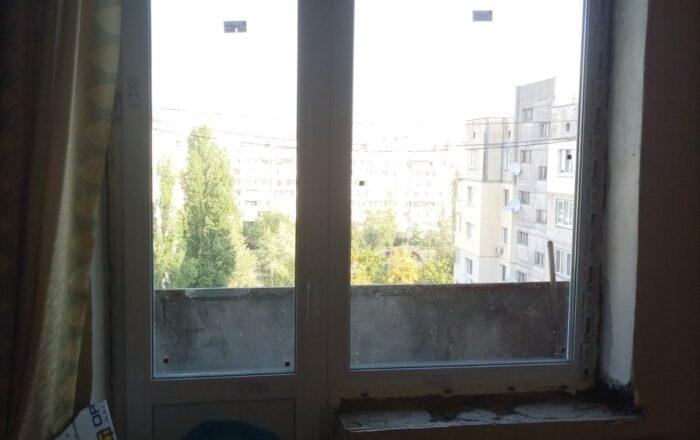 Установка пластиковых окон/проспект Свободы Киев