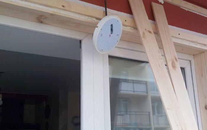 Установка металлопластикового балкона с внутренней отделкой/ул. Академика Лебедева 1 Киев