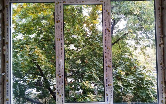 Установка пластиковых окон профиль OpenTeck/ул. Попудренко 52 Киев